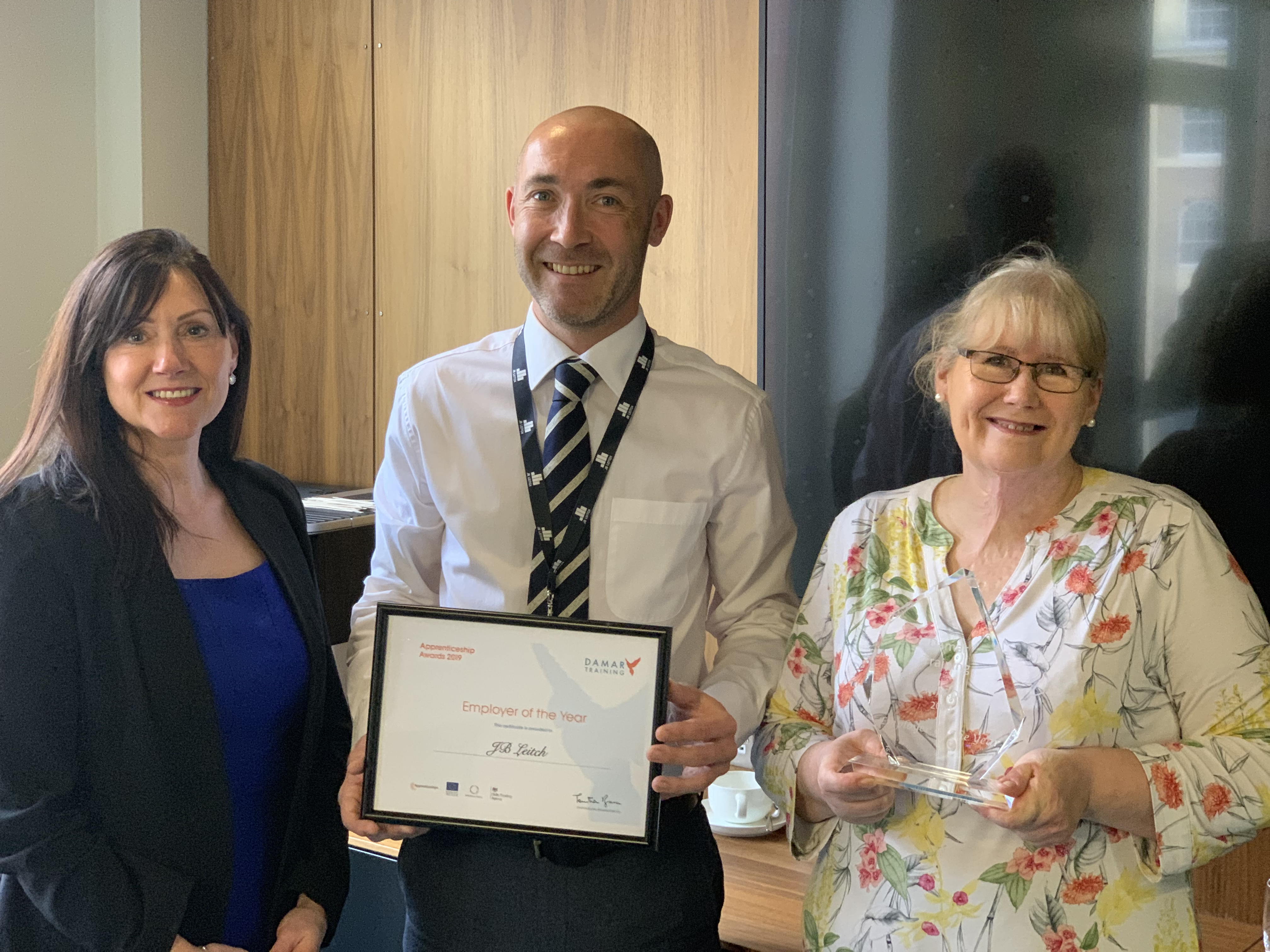 JB Leitch named 'Employer of the Year'